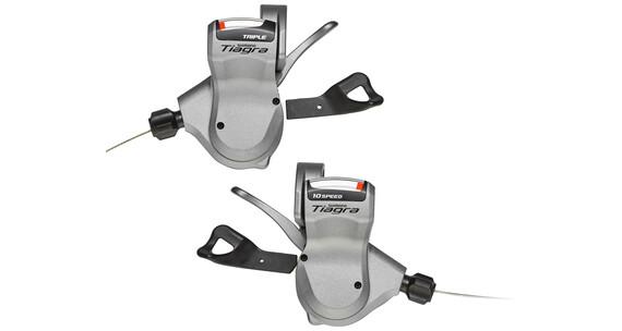 Shimano Tiagra SL-4600/4603 Schalthebel Set 3x10-fach silber
